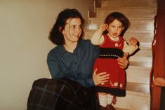 Me and my mamma! A photo taken a long long time ago and currently being used for my blog post 'To All Italian Mammas'.