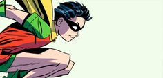 """salomeskye: """"Dick Grayson being a cutie in The New Frontier """" Nightwing, Batgirl, First Robin, The New Teen Titans, Bat Family, Robins, Dark Knight, Dc Comics, Fandom"""