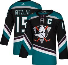 8d406e0351d adidas Men's Anaheim Ducks Ryan Getzlaf #15 Authentic Pro Alternate Jersey