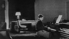 photo of Dmitri Shostakovich working #music
