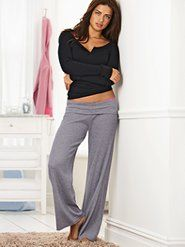 HUGE fan of these type pants.  SOOO comfy.  Think I am going to make some of my own