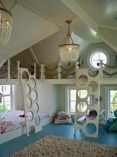 Lits superposés Cool, meubles enfants, petite chambre, manque d'espace…