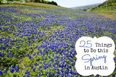 Top 25 Things to Do this Spring in Austin - R We There Yet Mom? | Family Travel for Texas and beyond...