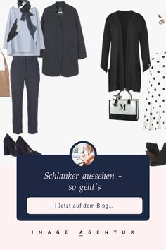 Schlanker aussehen - so geht's   Stil- und Imageberatung Polyvore, Blog, Image, Fashion, Psychology Of Colour, Look Thinner, Tips, Kleding, Moda