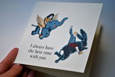 Items similar to I always have the best time with you - CARD on Etsy Mary Moore, Art For Art Sake, Kraft Envelopes, Your Cards, Cool Stuff, Stuff To Buy, Christmas Cards, Recycling, Good Things