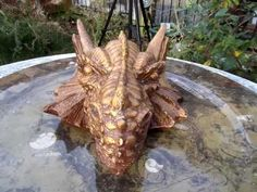 Copy of ULTIMATE ORGONITE MIX! Made into a Dragon Head - Handmade by Kel... Dragon Head, Generators, Handmade, Hand Made, Craft