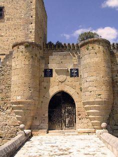 Castillo de Pedraza, Segovia, España