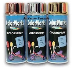 Color Works COLORSPRAY GOLD-SILVER-COPPER.