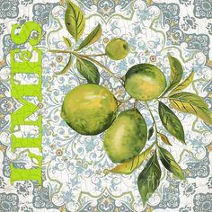 I uploaded new artwork to plout-gallery.artistwebsites.com! - 'Limes on Damask' - http://plout-gallery.artistwebsites.com/featured/limes-on-damask-jean-plout.html via @fineartamerica