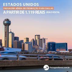Voos promocionais para Dallas em várias épocas do ano.    Saiba mais:  https://www.passagemaerea.com.br/dallas-estados-unidos.html   #dallas #estadosunidos #usa #passagemaerea #viagem #ferias