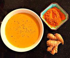 Combat Seasonal Allergies with Golden Turmeric Milk #turmeric #healthyliving