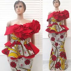 Latest Incredible Ankara Skirt And Blouse Styles Modern African Print Dresses, African Lace Dresses, African Traditional Dresses, African Dresses For Women, African Attire, African Women, African Wear, African Blouses, African Fashion Ankara