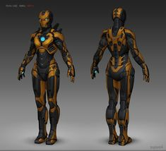 Iron Girl suit mark by on deviantART Character Inspiration, Character Art, Character Design, Character Ideas, Iron Girl, Iron Man Marvel, Iron Man Art, Comic Manga, Comic Art