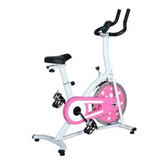 Anyone want to donate to get me this pretty pink bike! Loving it!!@Overstock - Make exercising at home a little more cheerful with this charming indoor cycling bike. The bright pink color brightens your home gym, and the cycle has an adjustable seat and resistance levels to burn more calories as you increase your workout.http://www.overstock.com/Sports-Toys/Sunny-Pink-Indoor-Cycling-Bike/7278766/product.html?CID=214117 $174.99