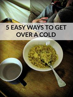 how to bounce back from your cold and get back to work quickly