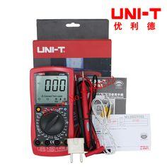 UNI-T UT58B Ammeter Multitester DMM Digital Multimeters DC/AC Voltage Current Resistance Capacitance Tester Data #Affiliate