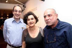 Carlos Augusto Calil, Rodrigo Naves e Nilza Micheletto
