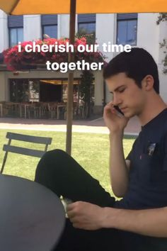 Dylan Minnette (Kerris Dorsey on IG stories)