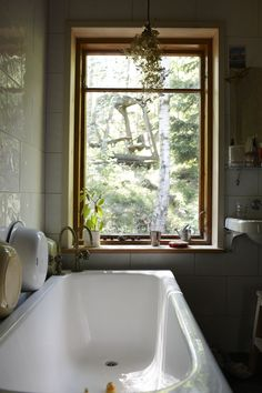 A bathroom with a view. Bohemian Homes