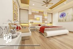 Visualization is an Indian creative group which specializes in architectural renderings and animations. We also focus on modeling illustrations animations industrial design and product images. For more details please visit our website: ww Bedroom False Ceiling Design, Luxury Bedroom Design, Master Bedroom Design, Bedroom Designs, Bed Designs, Modern Bedroom Furniture, Furniture Design, Bedroom Decor, Bedroom Ideas