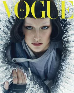 Vogue Ukraine May 2016  Photographer: An Le  Stylist: Olga Yanul  Hair: Nabil Harlow  Makeup: Seong Hee Park  Manicurist: Rica Romain  Casting: Victoria Pavon  Set Designer: Stewart Gerard  Model: Josephine Le Tutour