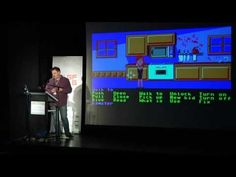 """Great talk on the making of Maniac Mansion, the first """"real"""" Lucasfilm game. Adventure Games, Fun Events, Script, Zero, Memories, Mansions, Inspiration, Video Games, King"""
