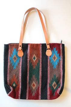 Bag- Mission Wool Purse - The Agate Mermaid $50