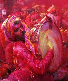 "Holi"", at Barsana"
