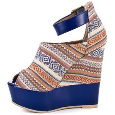Kennyya - Blue Fabric  Steve Madden $116.99