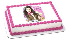iCarly Birthday Cake Decoration - Edible Image >> You will love this! More info @ : baking decorations