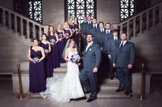 Heather Marie Photography | Stambaugh Auditorium Youngstown Ohio | Wedding Ceremony