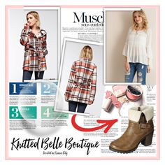 """""""Knitted Belle Boutique 5"""" by damira-dlxv ❤ liked on Polyvore featuring Whiteley, Anja, Garance Doré, Entro, GeeGee and AMA"""