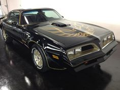 '77 trans am. Black and gold exactly as it should be. No other color would do!!!