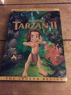 Disney Tarzan II DVD MUST SEE CLASSIC #tarzan, #disney, #dvd, #movie, #ebay
