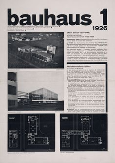 The Charnel-House | furtho:   Bauhaus journal issue 1,1926