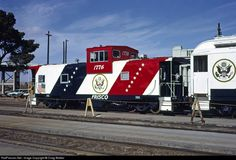 RailPictures.Net Photo: SLSF 1776 St. Louis & San Francisco Railroad (Frisco) Caboose at Barstow, California by Craig Walker