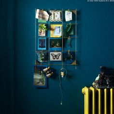 Mjesto za ključeve i ostale sitnice ili kreativni okvir za slike, izbor je na tebi. ;) MYRHEDEN okvir je fleksibilan, stoga iskoristi njegove kopčice za vješanje i kreni s izlaganjem. :) www.IKEA.hr/MYRHEDEN_okvir Cijena: 119,90 kn