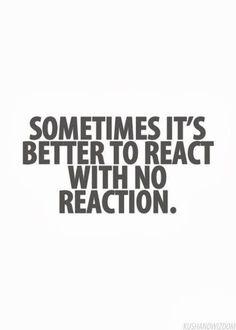 Reaction.
