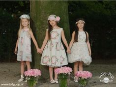 Fotoshoot Monnalisa voor Lolly Pop Kindermode