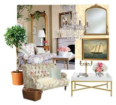 """""""Traditional French style"""" by melissa-de-souza ❤ liked on Polyvore featuring interior, interiors, interior design, home, home decor, interior decorating, York Wallcoverings, Pier 1 Imports, India Jane and Ethan Allen"""