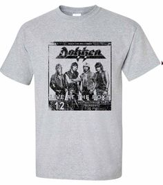 Dokken Breaking Chains T-shirt heavy metal retro rock cotton tee - T-Shirts, Tank Tops 80s Heavy Metal, Heavy Metal Bands, Breaking Chains, Vintage Comic Books, Broken Chain, Shirt Shop, Cotton Tee, Cool T Shirts, Retro Fashion