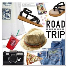 """Summer Road Trip Essentials"" by paculi ❤ liked on Polyvore featuring Madewell and roadtrip"