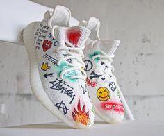 cb9fcdd6a47 Dragon Ball x Adidas Yeezy 350 Boost  Goku