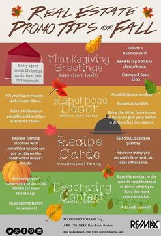 How can you keep the #realestate momentum going during what is typically a down season? Here's some #advice to do this #autumn!