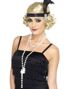 Jewellery: 1920's Long Pearl Necklace
