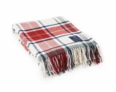Plaid Wool Throw