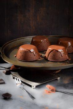 Mayan Chocolate Chili Molten Lava Cakes