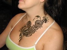 19 Best Henna Chest Tattoos Images Chest Piece Tattoos Henna