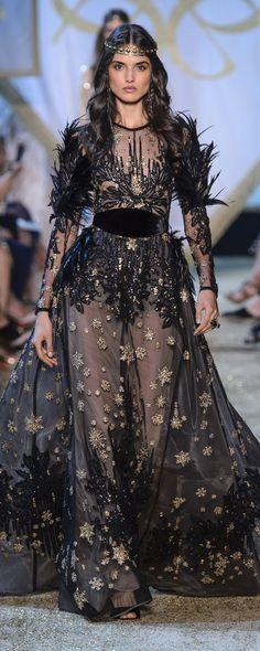 Elie Saab Sonbahar-Kış 2017-2018 - Haute couture - http://tr.orientpalms.com/Elie-Saab-6834 - ©ImaxTree