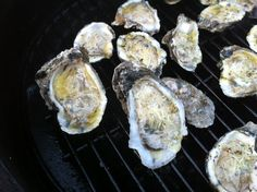 Oysters on the Big Green Egg